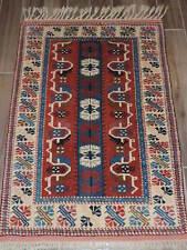 3x5ft. Handmade Turkish Melas Caucasian Wool Rug