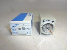 OMRON H3Y-4 TIMER RELAY 60 SECOND TIMER