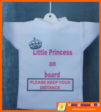 Little princess on board sign FREE PERSONALISATION