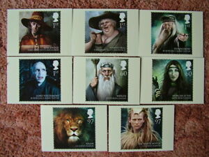 PHQ Card set No 347 Magical Realms 2011. 8 card set. Mint Condition