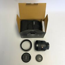 Sony G Master 85mm F/1.4 GM FE Lens Sony Full Frame Excellent Condition