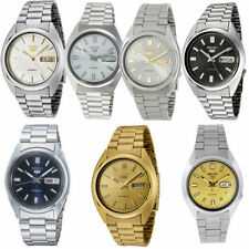 Seiko 5 Stainless Steel Case Dress/Formal Wristwatches