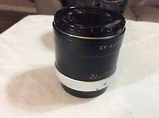 Vintage Camera Lens With Case Kenko CF Auto Teleplus 3X