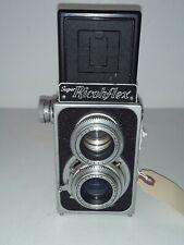 ******** 1955 Riken Ricoh Super Ricohflex 120 Film TLR Camera 8cm 80mm F3.5 Lens
