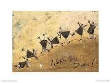 Watch This Doris! Sam Toft Fantasy Art Print 16x12
