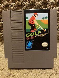 GOLF NINTENDO NES Original Mario Vintage retro classic GAME CARTRIDGE