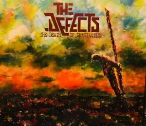 The Defects NEW 2020 Studio Album - 'The Death Of Imagination' CD Digipack