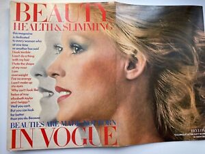 1972 BEAUTY IN VOGUE 8 page Veruschka feature by Avedon