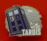 Danbury Mint Enamel Pin Badge BBC TV Doctor Who Dr Who Tardis The Tardis