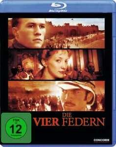 Die vier Federn (2002) [Blu-ray/NEU/OVP] Heath Ledger, Wes Bentley, Kate Hudson