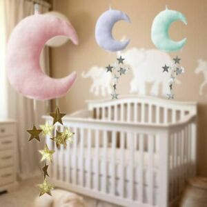 Nordic Style Pillow Moon Star Shape Hanging Decor Hanging Decoration Ornaments