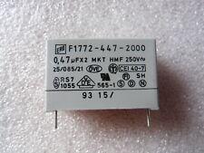 Condensateur 0.47uF 470nF 250Vac X2 MKT HMF ERO Roederstein - 1 PCS