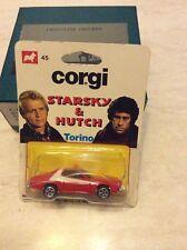 RARISSIMA CORGI STARSKY & HUTCH FORD GRAN TORINO NUM.45 DA COLLEZIONE