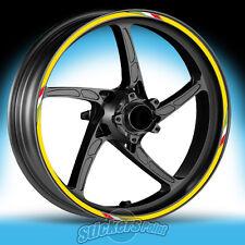 Adesivi moto DUCATI SCRAMBLER - RACING 3 stickers cerchi ruote wheels strisce