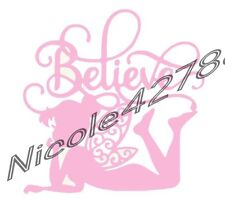 Vinyl Tinker Bell Decal/Wall/Laptop/Tablet /Car Decal/Art n Crafts/Fairy