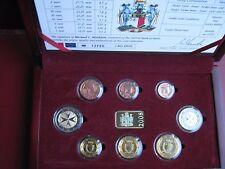 Malta 2008 8 moneda BUNC conjunto: 1 Cent - 2 euro Entubado Con cert. de autenticidad problema oficial