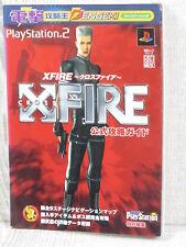 X Crociati Fire Ufficiale Guida PS2 Libro MW77