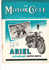 February Weekly Motor Cycle Magazines