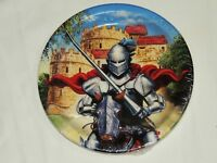 HALLMARK VALIANT KNIGHT  OF HONOR  8-LUNCH PLATES- PARTY SUPPLIES