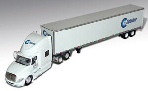 1/64 DCP Celadon - International Prostar with Dry Van Trailer