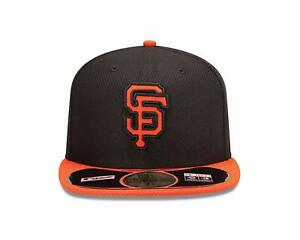 BRAND NEW 59FIFTY FITTED SAN FRANCISCO GIANTS BASEBALL CAP BY NEW ERA - 3 SIZES