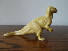 Vintage INVICTA PLASTIC IGUANODON dinosaur toy British Natural History Museum