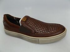 Ecco Mens Kyle Perforated Slip On Leather Fashion Sneaker SZ 7-7.5 M NEW,  15731