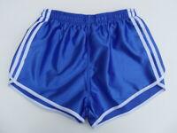 2x Französische Vintage Shorts Gr.L NEU 80er kurze Sporthose Nylon Glanz retro
