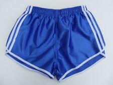 Französische Vintage Shorts Gr.L NEU 80er kurze Sporthose Nylon Glanz retro gay