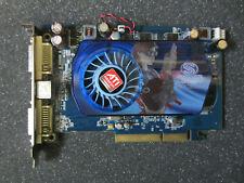 Sapphire Radeon HD 3650, 512mb ddr2, 2x DVI, TV-Out tarjeta gráfica AGP