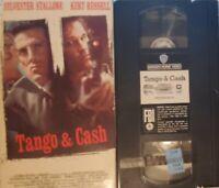 📼 TANGO & CASH (VHS 1990) ACTION Cop Police Comedy Sylvester Stallone Movie