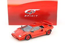 Koenig Specials Lamborghini countach TURBO Année 1983 rouge 1:18 GT-SPIRIT