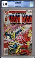 Iron Man 117 CGC 9.8 NM/MT Marvel Comics 1978
