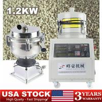 Auto Vacuum Material Loader Feeder Suction Feeding Machine 1.2KW Vacuum Hopper