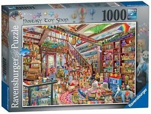 Ravensburger Jigsaw Puzzle The Fantasy Toy Shop 1000 Pieces Jigsaw Puzzle