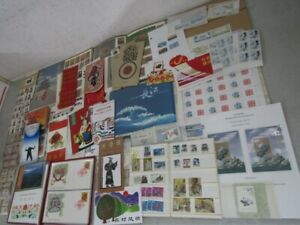 Nystamps PR China many mint NH stamp & block  souvenir sheet collection in box