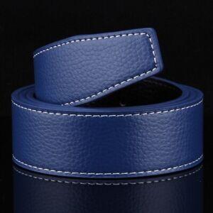 Men's Genuine Leather H Belt Replacement Strap Reversible (no Buckle) 105-125cm