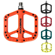 "Mountain Bike Pedals Nylon Composite Bearing 9/16"" MTB Bicycle Pedals Platform"