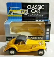 CLASSIC CAR 1:38 DIECAST 1936 CLASSIC SPORTS WITH OPENING DOORS - BOXED