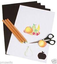 5 Blatt Magnetpapier Din A4 Magnet Papier magnetisches Druckerpapier Weiß Matt
