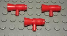 Lego Megaphone Lautsprecher Rot 3 Stück                                  (375 #)