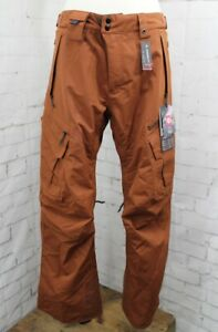 686 Smarty 3-in-1 Cargo Snowboard Pants, Men's Large, Clay Brown New