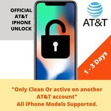 PREMIUM AT&T ATT FACTORY UNLOCK SERVICE FOR IPHONE 11 Xs Xr X 8 7 6s 6 SE Active