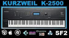 Kurzweil K-2500 Soundfont SF2 Presets, Samples load and play in many DAWs