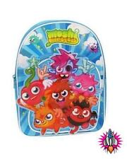 NEW MOSHI MONSTERS CHILDRENS KIDS 3D BLUE BACKPACK RUCK SACK SCHOOL BAG BNWT