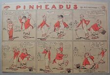 Pinheadus by A.E. Hayward from 6/13/1915 Half Page Size