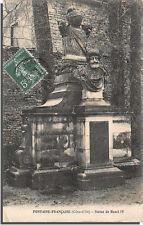 CPA 21 - FONTAINE-FRANCAISE - Statue de Henri IV