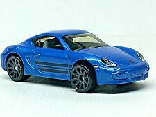 Hot Wheels Porsche Caïmans S (Bleu) État Neuf / en Vrac