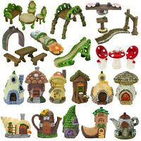 Secret Fairy Garden Accessories Enchanted Forest Woodland Magical Ornament Decor