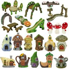 Secret Fairy Garden Accessories Enchanted Forest Woodland Magical Ornament Decor